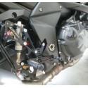 ADJUSTABLE REAR SETS 4-RACING FOR KAWASAKI Z 1000 2007/2009, Z 750/R 2007/2012 (standard and reverse shifting)