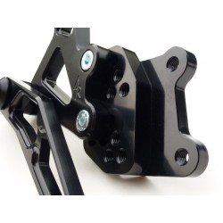 ADJUSTABLE REAR SETS 4-RACING FOR SUZUKI GSX-R 1000 2007/2008 (standard and reverse shifting)