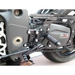 PEDANE ARRETRATE REGOLABILI 4-RACING PER TRIUMPH SPEED TRIPLE 1050 2005/2010 (cambio standard e rovesciato)