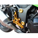ADJUSTABLE REAR SETS WITH EXTERNAL 4-RACING ROD FOR YAMAHA R1 2007/2008 (reverse shifting)