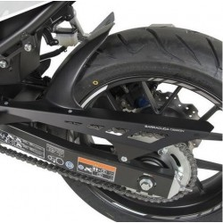 BLACK ABS BARRACUDA REAR FENDER WITH CHAIN GUARD FOR HONDA CBR 500 R 2013/2018