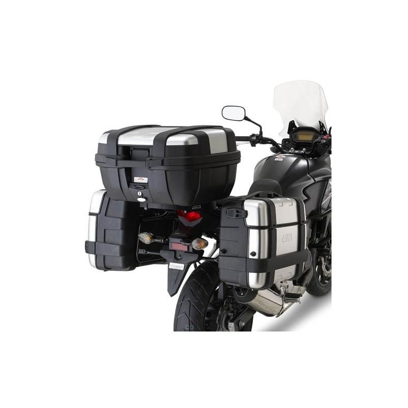 PORTAVALIGIE LATERALE PL1121 VALIGIE LATERALI MONOKEY PER HONDA CB 500 X 2013/2016*
