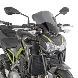 CUPOLINO GIVI FOR KAWASAKI Z 900 2017/2019, SMOKING'
