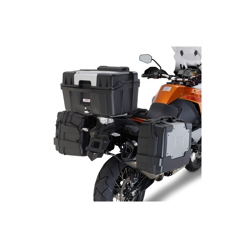 PORTAVALIGIE LATERALE AD AGGANCIO RAPIDO PLR7706 PER VALIGIE LATERALI MONOKEY PER KTM 1090 ADVENTURE 2017/2019