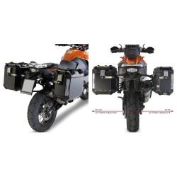 GIVI FRAME SIDE CASES MONOKEY CAM-SIDE TREKKER OUTBACK FOR KTM 1290 SUPER ADVENTURE R/S 2017/2020