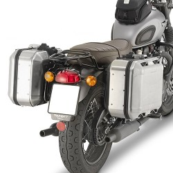 GIVI PL6410 FRAME FOR MONOKEY SIDE CASES FOR TRIUMPH BONNEVILLE T120 2016/2020