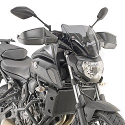 WINDSHIELD GIVI FOR YAMAHA MT-07 2018/2020, SMOKED