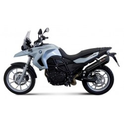 EXHAUST MIVV SOUND BLACK IN STAINLESS STEEL FOR BMW F 650 GS 2008/2012, APPROVED