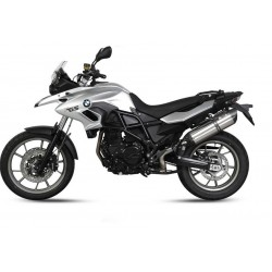 EXHAUST TERMINAL MIVV STAINLESS STEEL SOUND FOR BMW F 700 GS 2013/2017, APPROVED
