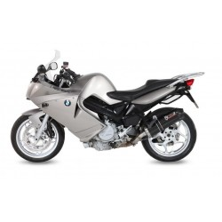 MIVV OVAL EXHAUST TERMINAL IN CARBON FOR BMW F 800 S 2007/2013, APPROVED