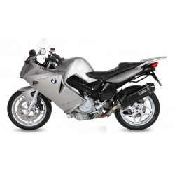 MIVV SPEED EDGE BLACK EXHAUST TERMINAL IN STAINLESS STEEL WITH CARBON BASE FOR BMW F 800 S 2007/2013, APPROVED