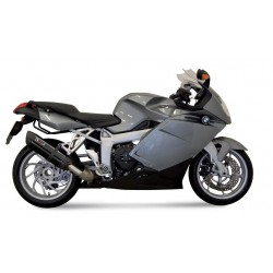 MIVV SOUND BLACK EXHAUST TERMINAL FOR BMW K 1200 R/S 2005/2008, APPROVED
