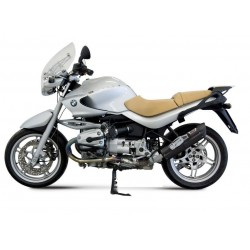 BLACK STAINLESS STEEL MIVV EXHAUST TERMINAL FOR BMW R 1150 R, APPROVED