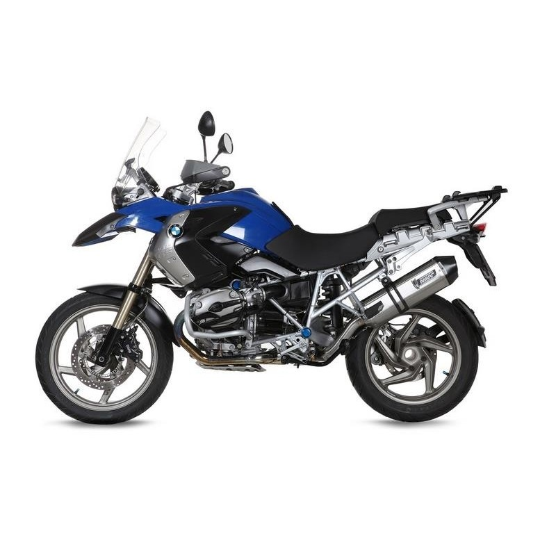 MIVV SPEED EDGE EXHAUST TERMINAL IN STAINLESS STEEL FOR BMW R 1200 GS 2004/2007, APPROVED