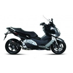 BLACK SOUND MIVV EXHAUST TERMINAL FOR BMW C 600 SPORTS 2012/2015, APPROVED