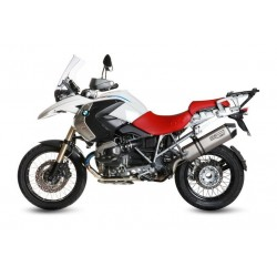 EXHAUST TERMINAL MIVV TITANIUM SPEED EDGE WITH CARBON CUP FOR BMW R 1200 GS 2010/2012, APPROVED