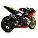 EXHAUST SILENCER MIVV DELTA RACE BLACK WITH CARBON BASE FOR BMW S 1000 RR 2017/2018 *, APPROVED
