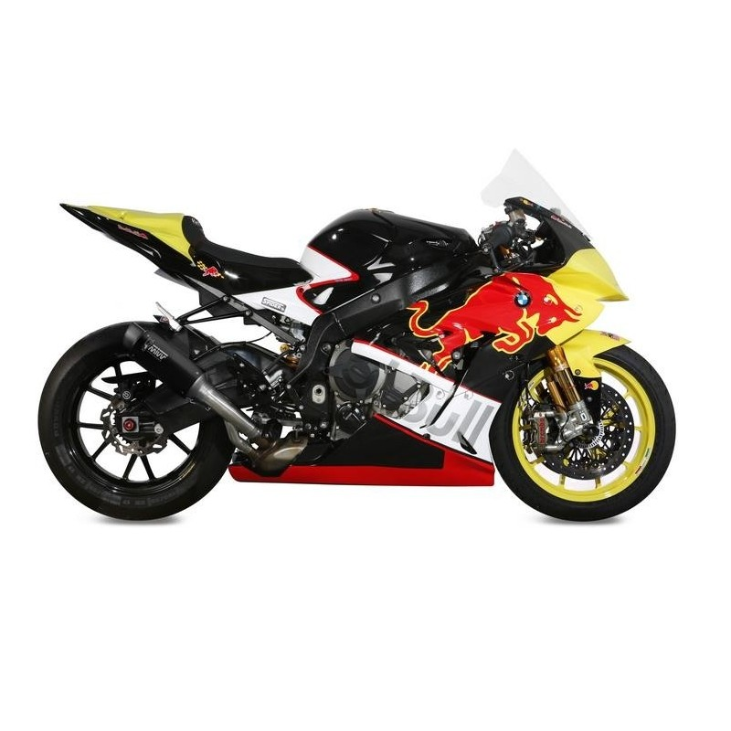 EXHAUST MIVV GP PRO BLACK IN STAINLESS STEEL FOR BMW S 1000 RR 2017/2018 *, APPROVED