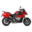 EXHAUST TERMINAL MIVV SPEED EDGE BLACK IN STAINLESS STEEL WITH CARBON BASE FOR BMW S 1000 XR 2015/2019, APPROVED