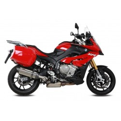 EXHAUST MIVV SOUND BLACK IN STAINLESS STEEL FOR BMW S 1000 XR 2015/2019, APPROVED