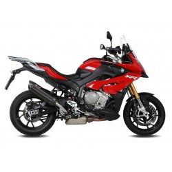 EXHAUST MIVV SOUND BLACK STAINLESS STEEL HIGH PASSAGE FOR BMW S 1000 XR 2015/2019, APPROVED