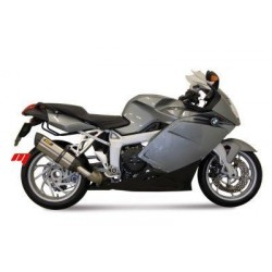 MIVV SOUND STAINLESS STEEL EXHAUST SYSTEM FOR BMW K 1200 R/S 2005/2008, APPROVED