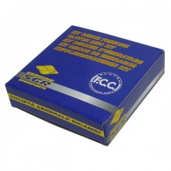 SET COMPLETO DISCHI FRIZIONE FCC PER KAWASAKI ZX-9R 2000/2003