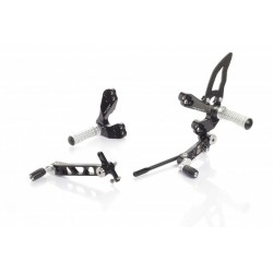 ADJUSTABLE FOOTRESTS CNC RACING FOR DUCATI STREETFIGHTER 1098 S 2009/2013