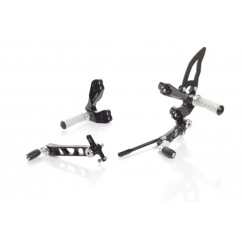 ADJUSTABLE REAR SETS CNC RACING FOR DUCATI STREETFIGHTER 848 2011/2015
