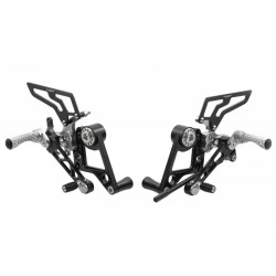 ADJUSTABLE REAR SETS CNC RACING FOR DUCATI HIPERMOTARD 1100 S 2007/2009