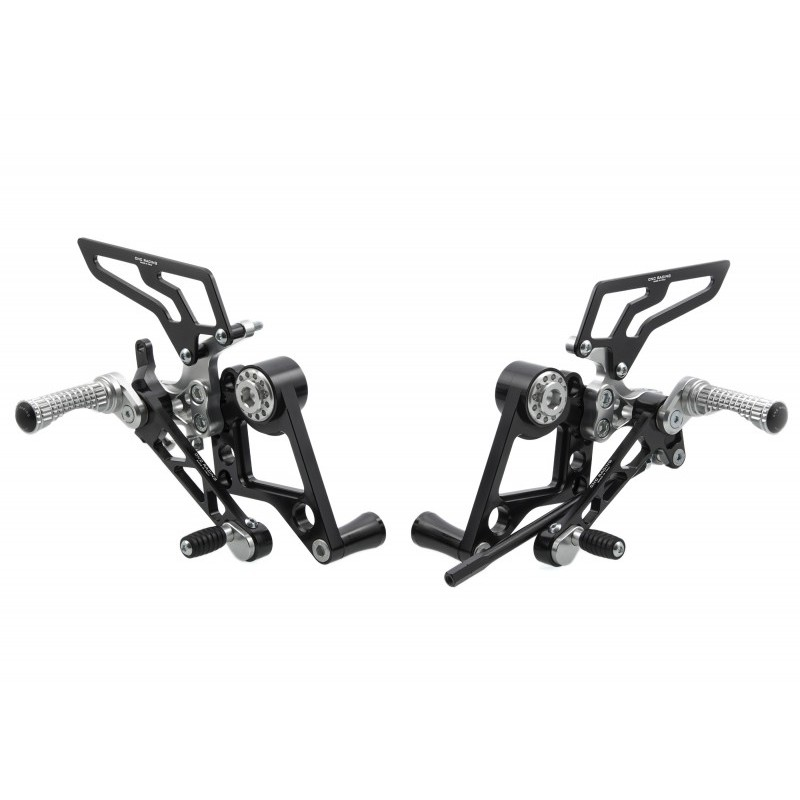 ADJUSTABLE REAR SETS CNC RACING FOR DUCATI HYPERMOTARD 796 2010/2012