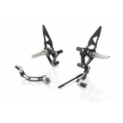 ADJUSTABLE REAR SETS CNC RACING FOR DUCATI 848 EVO 2011/2013