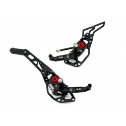 ADJUSTABLE FOOTRESTS CNC RACING FOR DUCATI HYPERSTRADA 821 2013/15