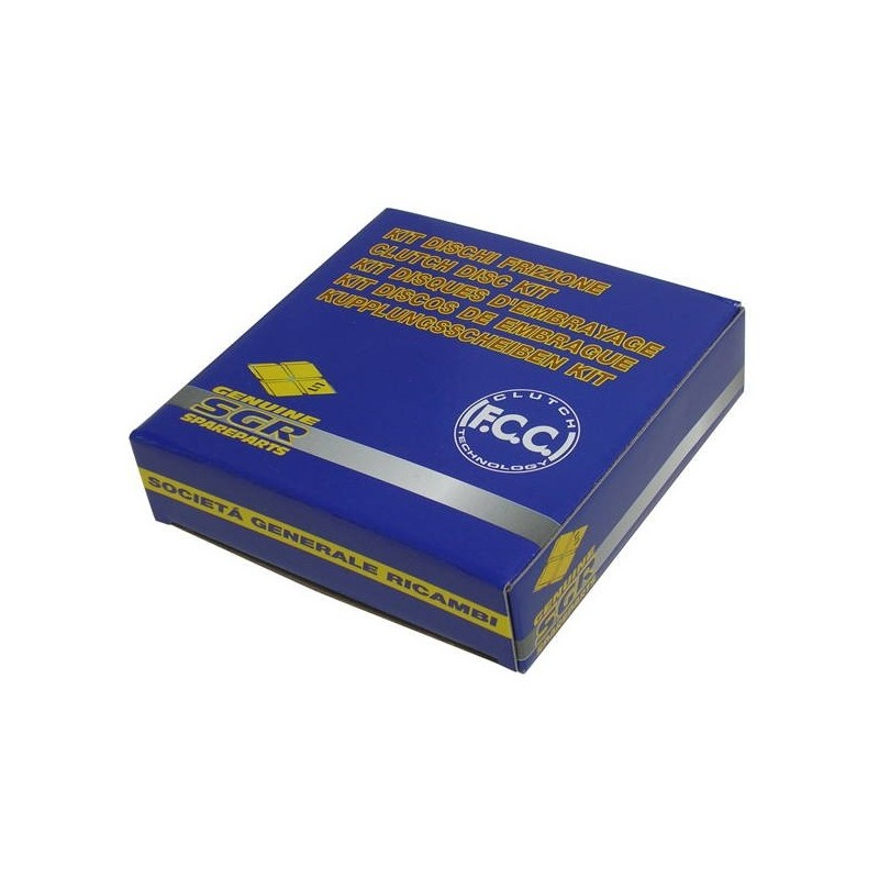 SET COMPLETO DISCHI FRIZIONE FCC PER SUZUKI V-STROM 650 2007/2019, V-STROM 650 XT 2015/2019