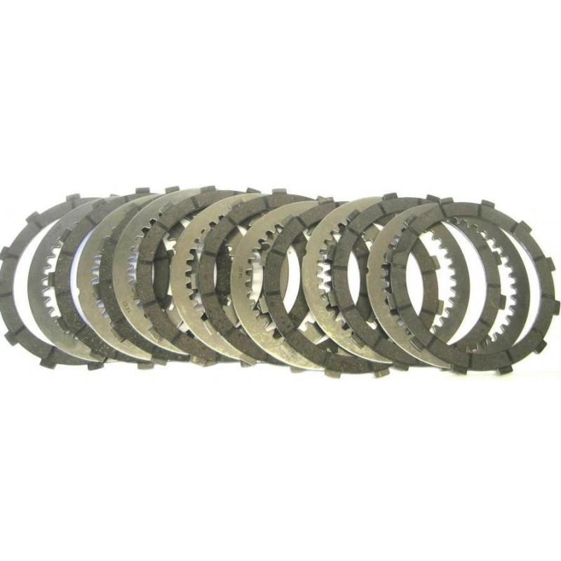 COMPLETE SET CLUTCH PLATES SGR FOR SLIPPER CLUTCH DUCATI 1098 R 2008/2010, 1198 SP 2011