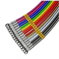 DIRECT BRAKE TUBE KIT HEL (ANT-POST) FOR DUCATS 1198/S 2009/2010