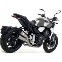 DOUBLE-ARROW STEEL PRO-RACE EXHAUST TERMINAL FOR HONDA CB 1000 R 2018/2020, APPROVED