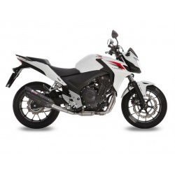 BLACK SOUND MIVV EXHAUST TERMINAL FOR HONDA CB 500 F 2013/2015, APPROVED