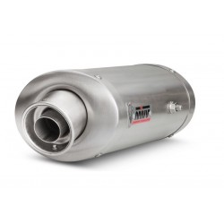 MIVV OVAL EXHAUST TERMINAL IN STAINLESS STEEL FOR HONDA CBR 1000 RR 2004/2005, APPROVED
