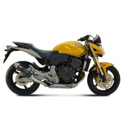 MIVV GP EXHAUST TERMINAL IN CARBON FOR HONDA HORNET 600 2007/2013, APPROVED