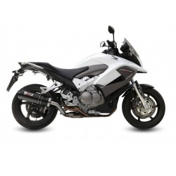 EXHAUST TERMINAL MIVV OVAL CARBON WITH CARBON BASE FOR HONDA CROSSRUNNER 800 2011/2014, APPROVED