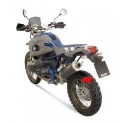 EXHAUST TERMINAL MIVV OVAL CARBON FOR BMW HP2 ENDURO, APPROVED