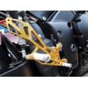 ADJUSTABLE REARSETS 4 RACING FOR YAMAHA R1 2009/2013 (shift STANDARD / REVERSE)