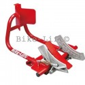Motorcycle wheel clamps