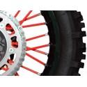 Wheel spokes cover