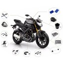 ROAD MOTORCYCLE ACCESSORIES